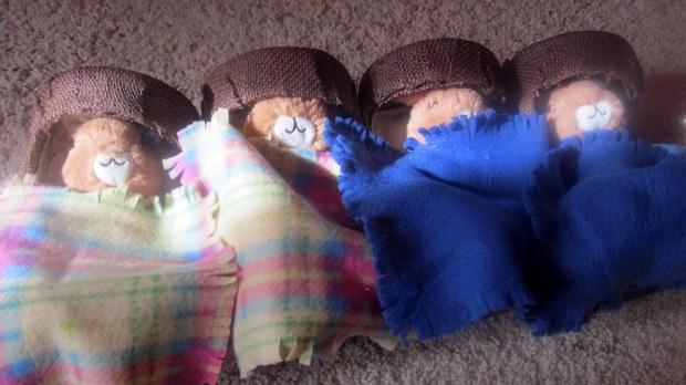 Bunnies in Beds